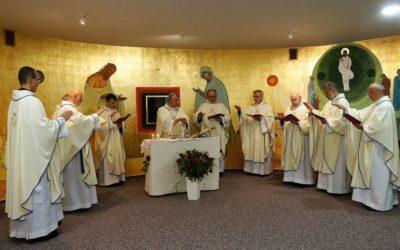 Poświęcenie kaplicy adoracji pw. św. Eliasza